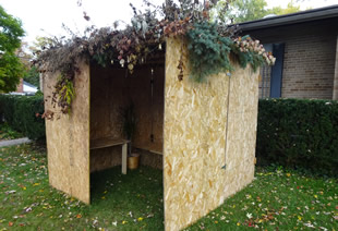 Bet Yeshurun Sukkot built for Feast of Tabernacles